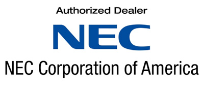 NEC Authorized Dealer logo